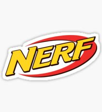 Nerf Logo Sticker