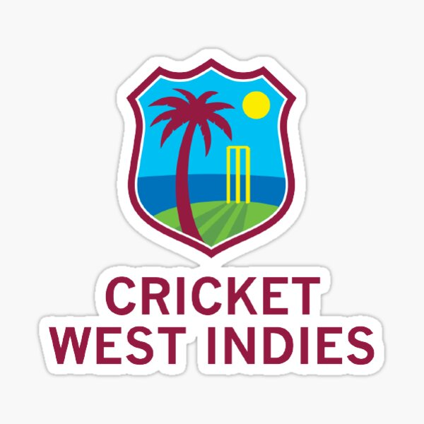 West Indies Cricket Sticker