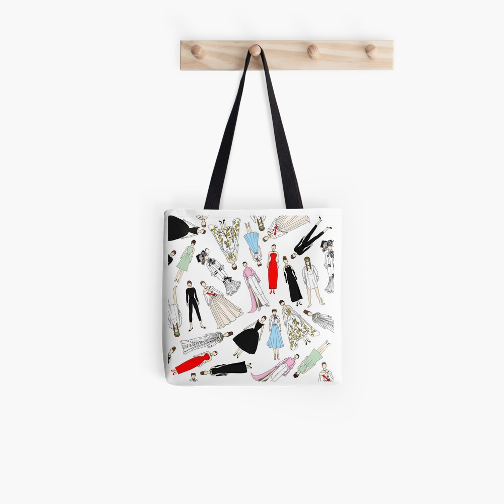 Outfits of Audrey Fashion Tote Bag