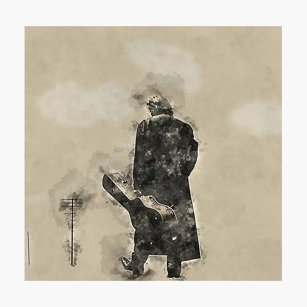 Johnny Cash Man in Black Photographic Print