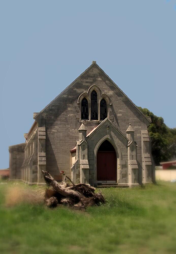Glencoe Roman Catholic Church  by Robert Jenner