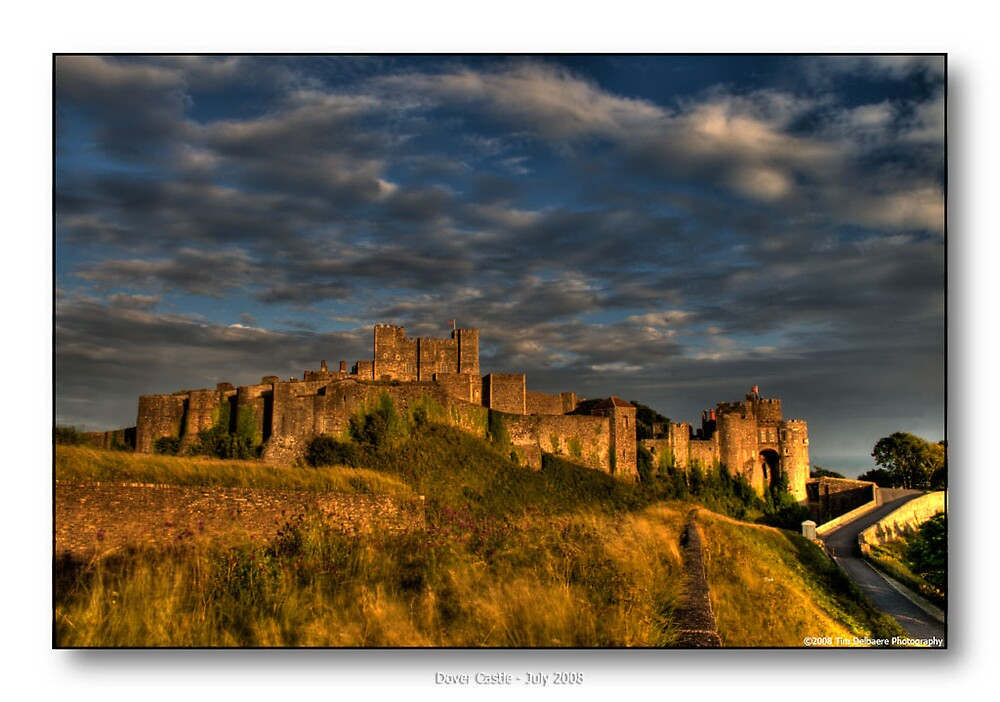 Dover Castle by CadmannUK