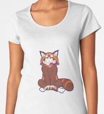 Red Panda Jammies Osomatsu Women's Premium T-Shirt