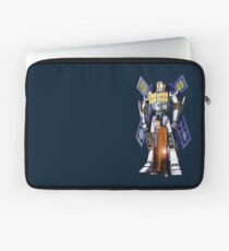 10th Doctor with Robot Phone booth Laptop Sleeve