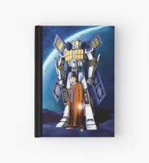 10th Doctor with Robot Phone booth Hardcover Journal