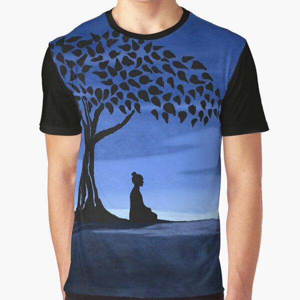 Buddah tree Graphic T-Shirt