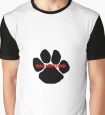 dachshund name paw Graphic T-Shirt