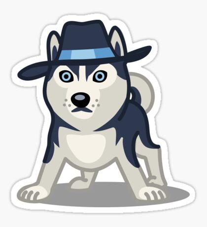 Funny Siberian Husky - Dog Gifts for Husky Dog Lovers Sticker