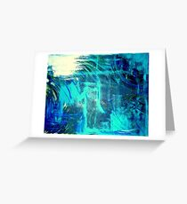 """The Ocean Lovers"" Greeting Card"