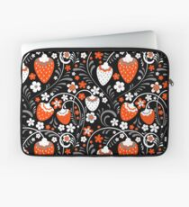 Ornament in Khokhloma Russian style Laptop Sleeve
