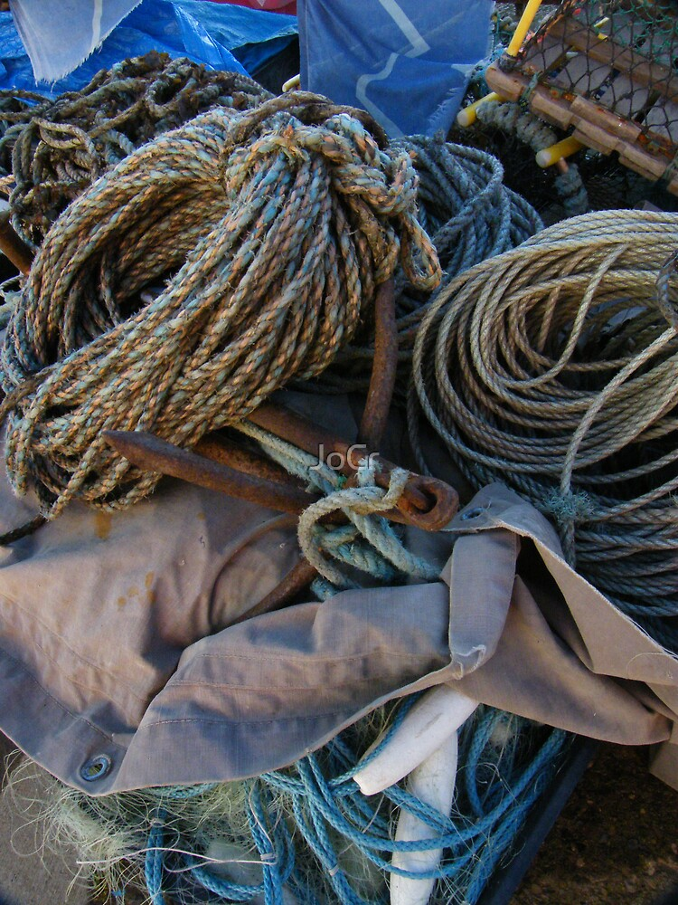 Fishing boat tackle by JoCr