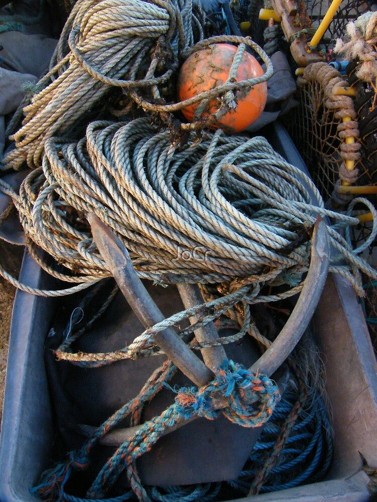 Fishing boat equipment by JoCr