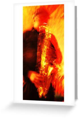 LA's Sax by Amy E. McCormick