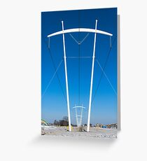 Fermilab Power Towers Greeting Card