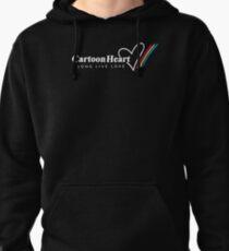 Cartoon Heart Logo, Paint Stripe - T-shirts Pullover Hoodie