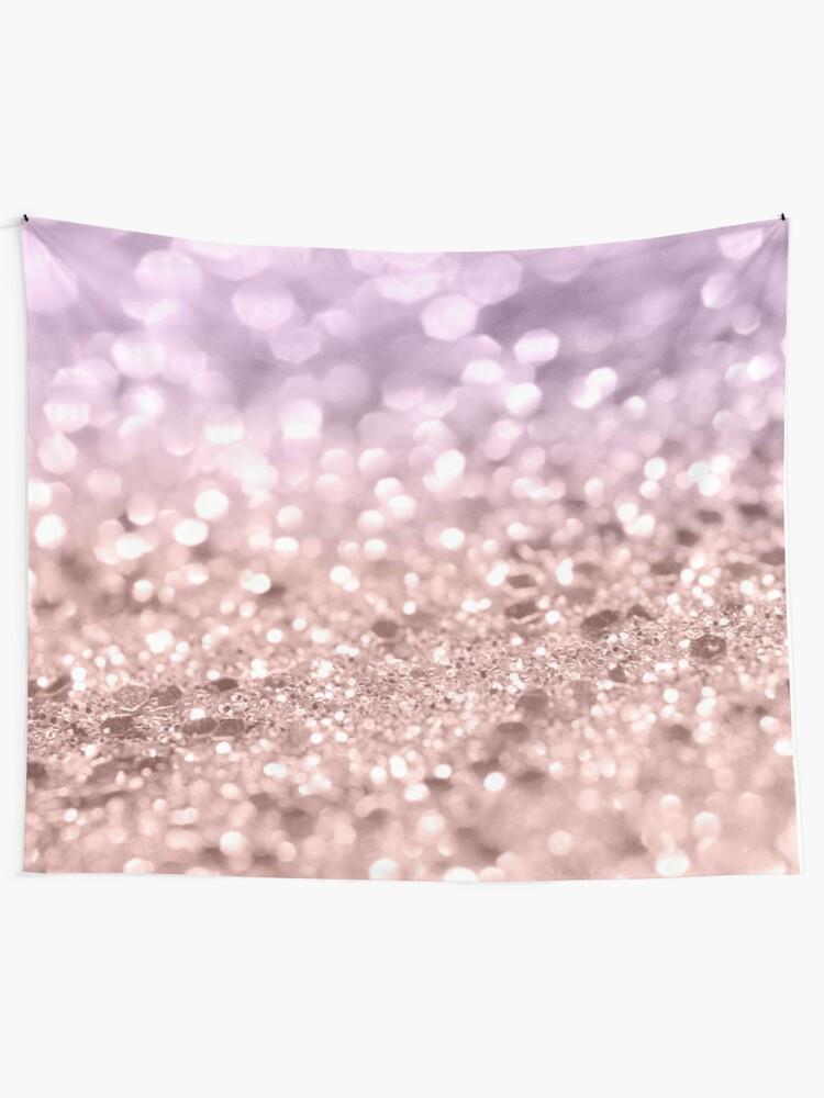 64ba9535a Rose Gold Blush Purple MERMAID Girls Glitter #1 #shiny #decor #art Wall