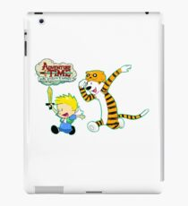 AT with Calvin and Hobbes iPad Case/Skin