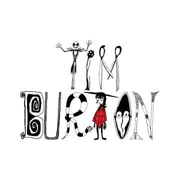 "Tim Burton ""Alphabet"" by MitsueTG"