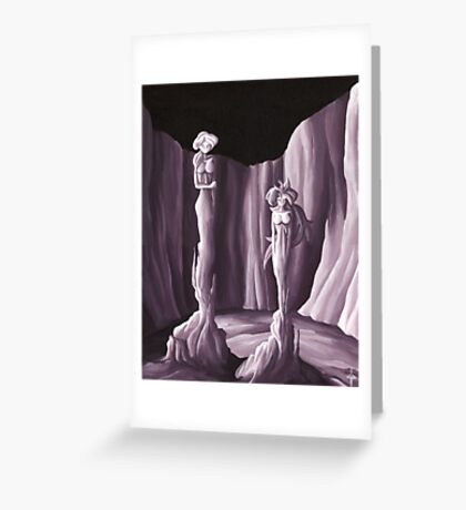 Fille Greeting Card