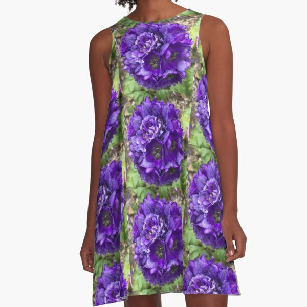 The Delphinium  A-Line Dress