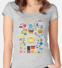 Poke Supplies Women's Fitted Scoop T-Shirt