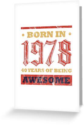 40 Year Old Birthday Gift