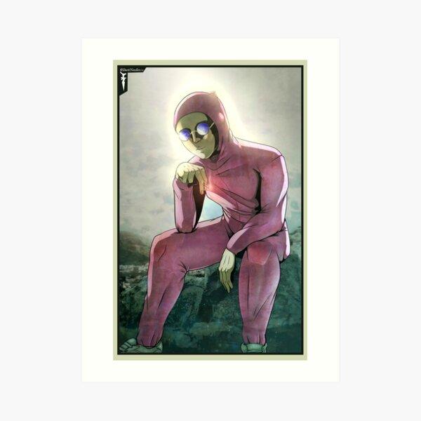 The Pink Guy Art Print