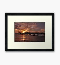 Sunrise in Fort Lauderdale, As Is Framed Print