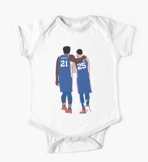 Ben Simmons and Joel Embiid One Piece - Short Sleeve