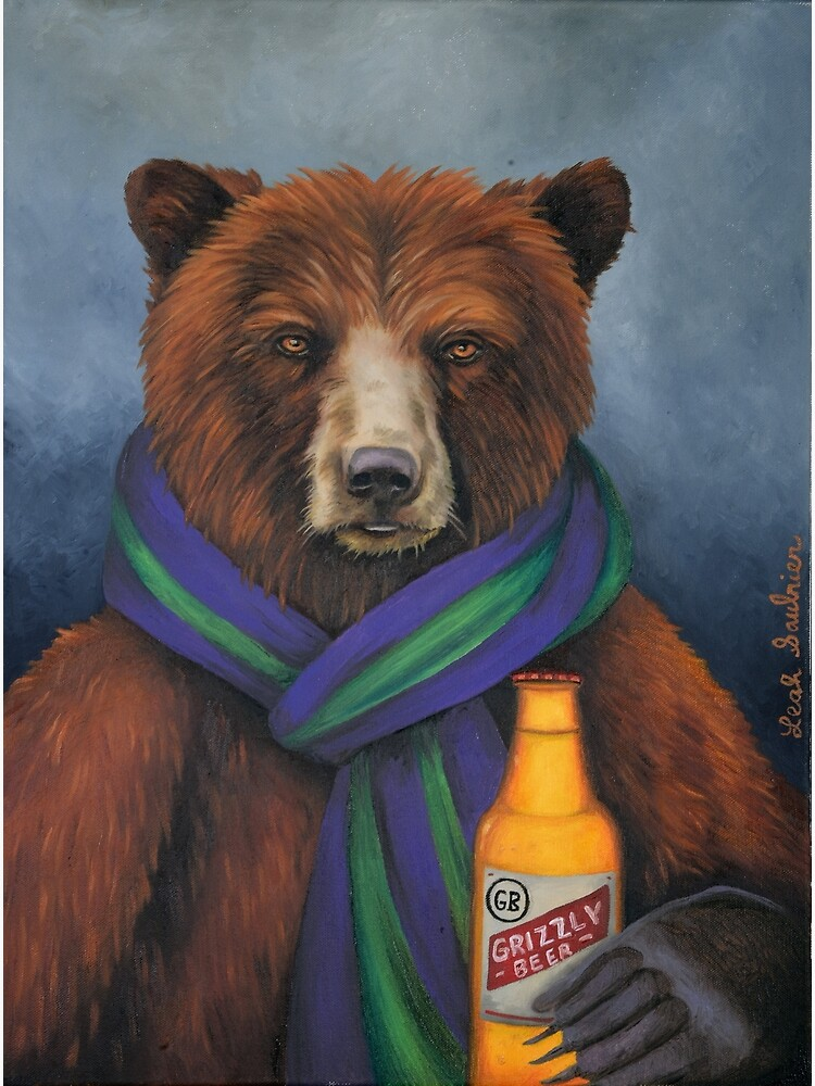 Grizzly Beer by LeahSaulnier