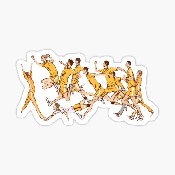 Haikyuu!! Johzenji Team! Sticker