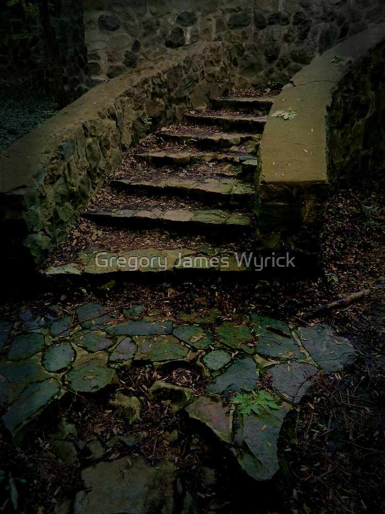 The Stairs  by Gregory James Wyrick
