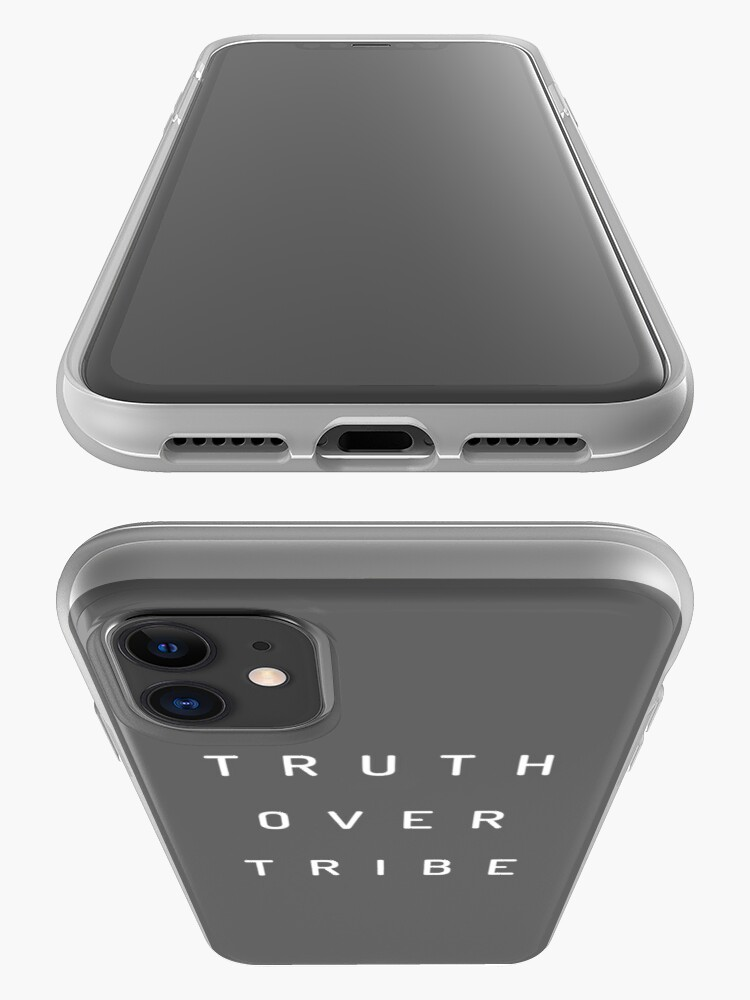 Alternate view of Truth Over Tribe iPhone Case & Cover