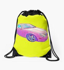 Barbie Dream Car Drawstring Bag