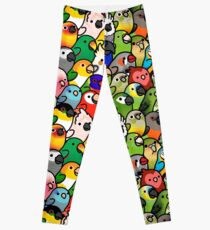 Everybirdy Pattern Leggings