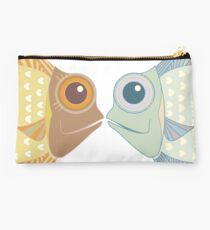 Fish Greetings Studio Pouch