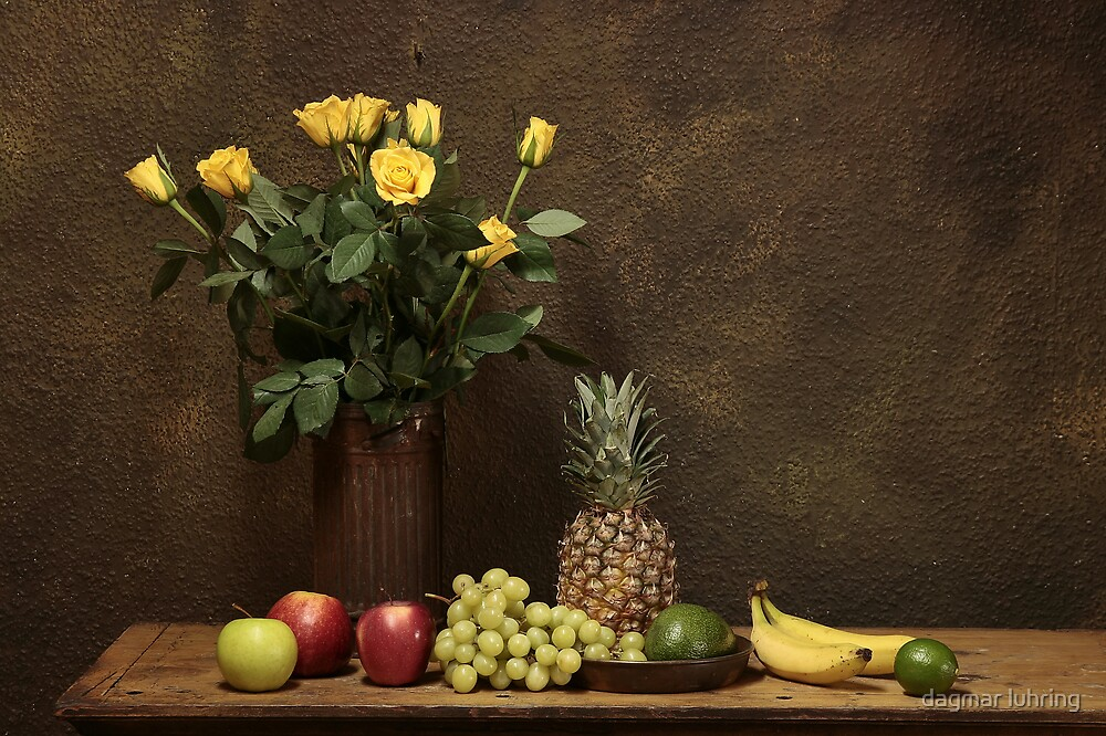 still life with fruits by danapace