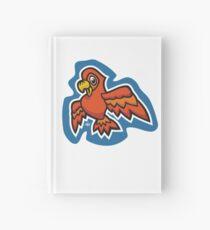 Orange Parrot Hardcover Journal