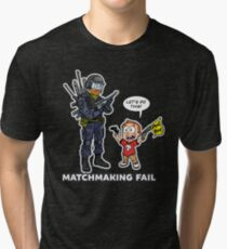 Matchmaking Fail Tri-blend T-Shirt