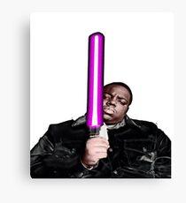 Biggie Star Wars Canvas Print