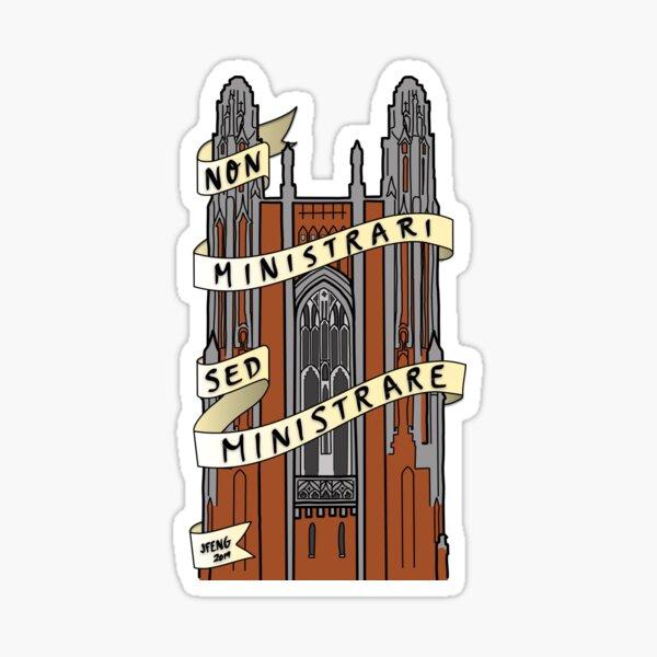 Wellesley College Galen Stone Tower Sticker