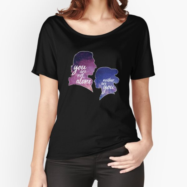 Reylo Outlined | You are not alone - Neither are you Relaxed Fit T-Shirt