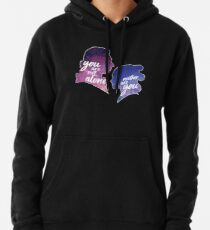 Reylo Outlined | You are not alone - Neither are you Pullover Hoodie