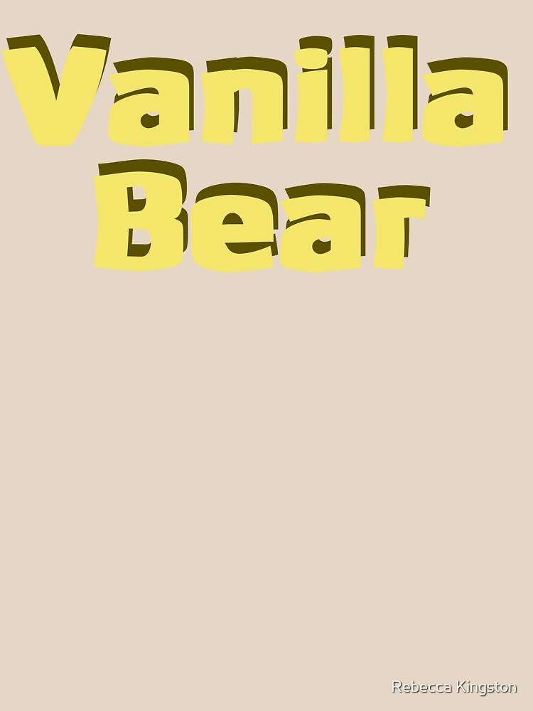 Scrubs Vanilla Bear | Unisex T-Shirt