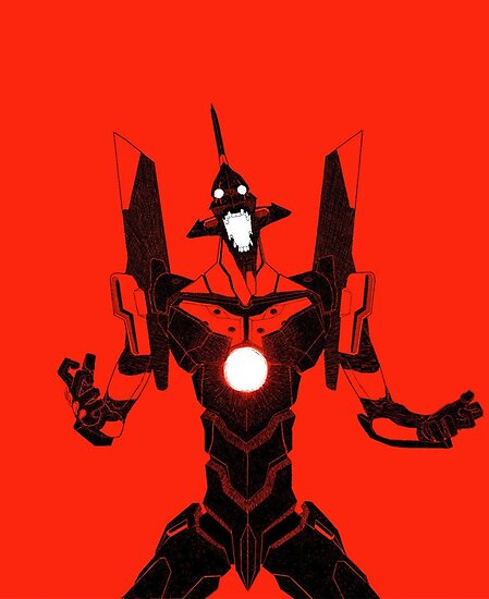 """Evangelion Unit-01"""" Posters By"""