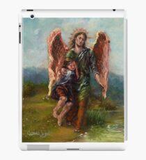 Archangel Raphael with Tobias iPad Case/Skin