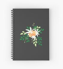 Lily Bouquet Spiral Notebook