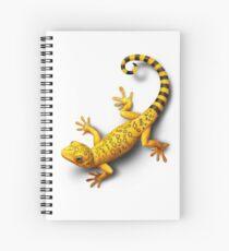 Yellow Gecko bringing Success Spiral Notebook