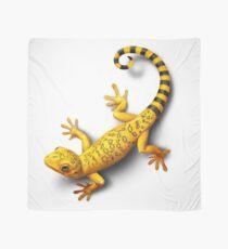 Yellow Gecko bringing Success Scarf