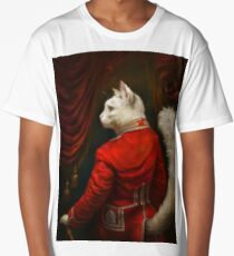 The Hermitage Court Chamber Herald Cat Edited version Long T-Shirt